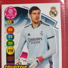 Cromos de Futebol: 236 COURTOIS REAL MADRID ADRENALYN XL 2020 2021 20 21 PANINI CROMO CARD2. Lote 286784473