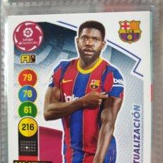 Cromos de Futebol: 61BIS 61 BIS UMTITI ACTUALIZACION BARCELONA BARÇA ADRENALYN XL 2020 2021 20 21 PANINI CROMO CARD. Lote 286818173