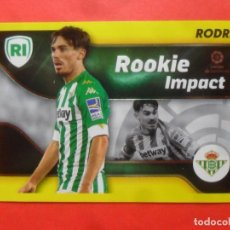Cromos de Futebol: ESTE 2021 2022 - 4 RODRI - ROOKIE IMPACT - REAL BETIS - 21 22 - PANINI. Lote 287352753