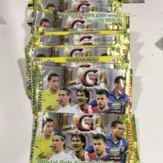 Cromos de Fútbol: 10 SOBRES SIN ABRIR DE LAS FICHAS DE LA LIGA 2011 PLATINIUM MUNDICROMO. Lote 287361218