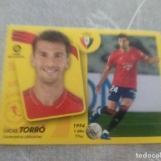Cartes à collectionner de Football: 2021 / 2022 21 22 PANINI OSASUNA Nº 15 A TORRÓ - EDICIONES ESTE - NUEVO DE SOBRE. Lote 287387018