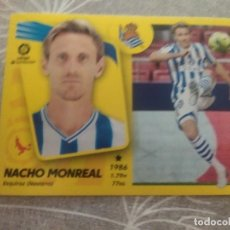 Cartes à collectionner de Football: 2021 / 2022 21 22 PANINI REAL SOCIEDAD Nº 11 NACHO MONREAL - EDICIONES ESTE - NUEVO DE SOBRE. Lote 287390573