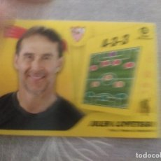 Cartes à collectionner de Football: 2021 / 2022 21 22 PANINI SEVILLA Nº 2 ENTRENADOR JULEN LOPETEGUI - EDICIONES ESTE - NUEVO DE SOBRE. Lote 287391468