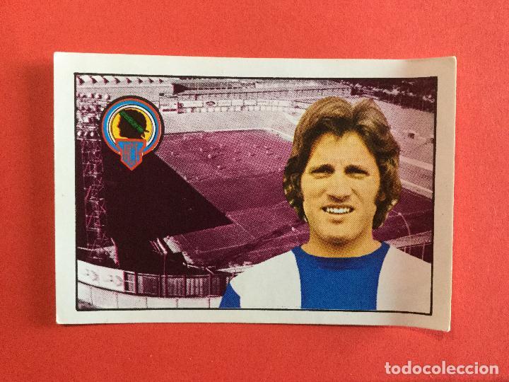 VARELA HERCULES CF CROMOS FÚTBOL FHER LIGA 1974 1975 SIN PEGAR (Coleccionismo Deportivo - Álbumes y Cromos de Deportes - Cromos de Fútbol)