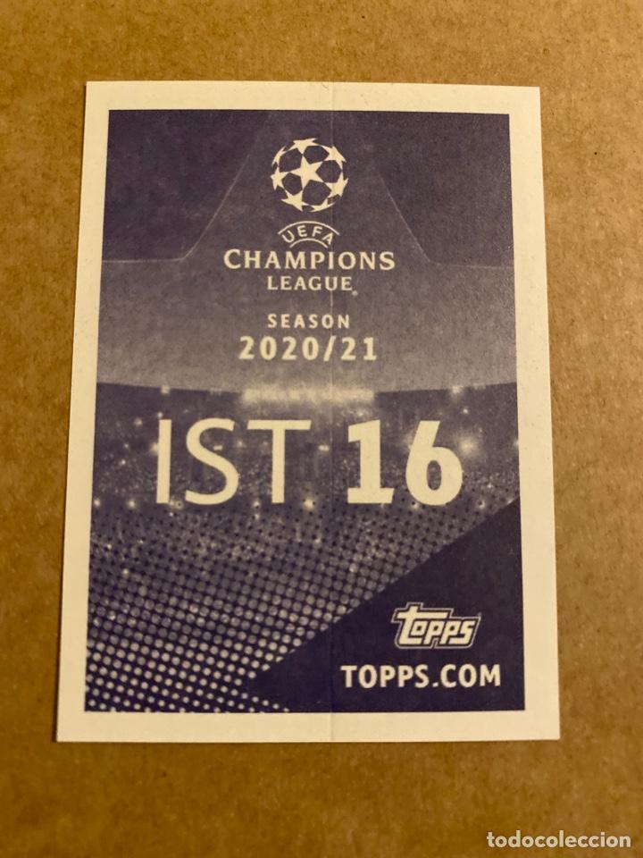 Cromos de Fútbol: Champions League Stickers Topps 2020 2021 20 21 IST 16 Nacer Chadli Istanbul Basaksehir Estambul - Foto 2 - 287785658