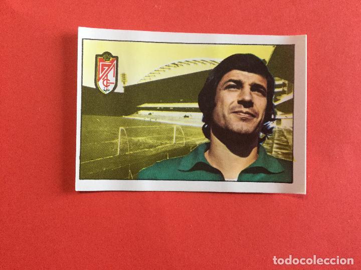 IZCOA GRANADA CF CROMOS FÚTBOL FHER LIGA 1974 1975 SIN PEGAR (Coleccionismo Deportivo - Álbumes y Cromos de Deportes - Cromos de Fútbol)