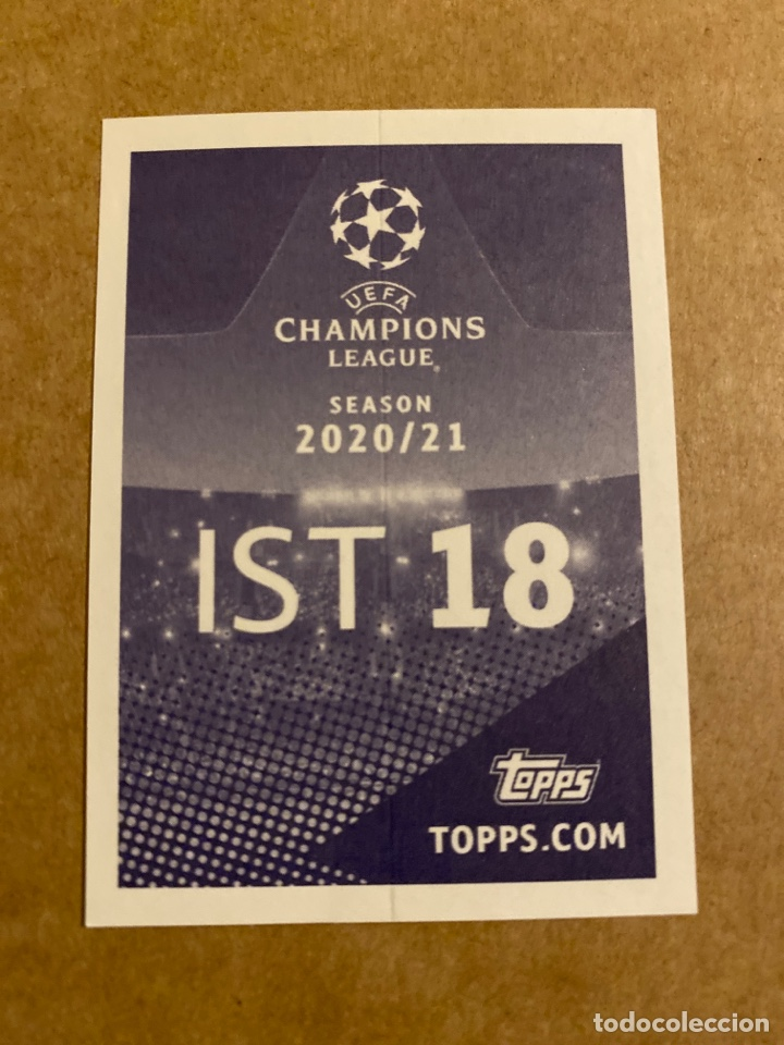 Cromos de Fútbol: Champions League Stickers Topps 2020 2021 20 21 IST 18 Enzo Crivelli Istanbul Basaksehir Estambul - Foto 2 - 287786088