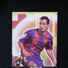 Cromos de Fútbol: #074 74 GIULY BARCELONA MATE TOP 2005 MUNDICROMO 05. Lote 287995813
