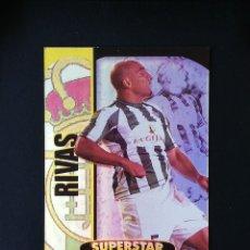 Cromos de Fútbol: #112 RIVAS REAL BETIS SUPERSTAR BRILLO TOP 2005 MUNDICROMO 05. Lote 288002088