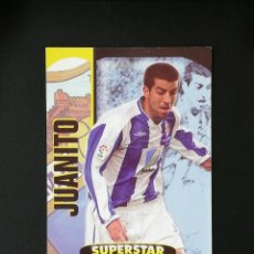 Cromos de Fútbol: #113 JUANITO MALAGA SUPERSTAR MATE TOP 2005 MUNDICROMO 05. Lote 288002248