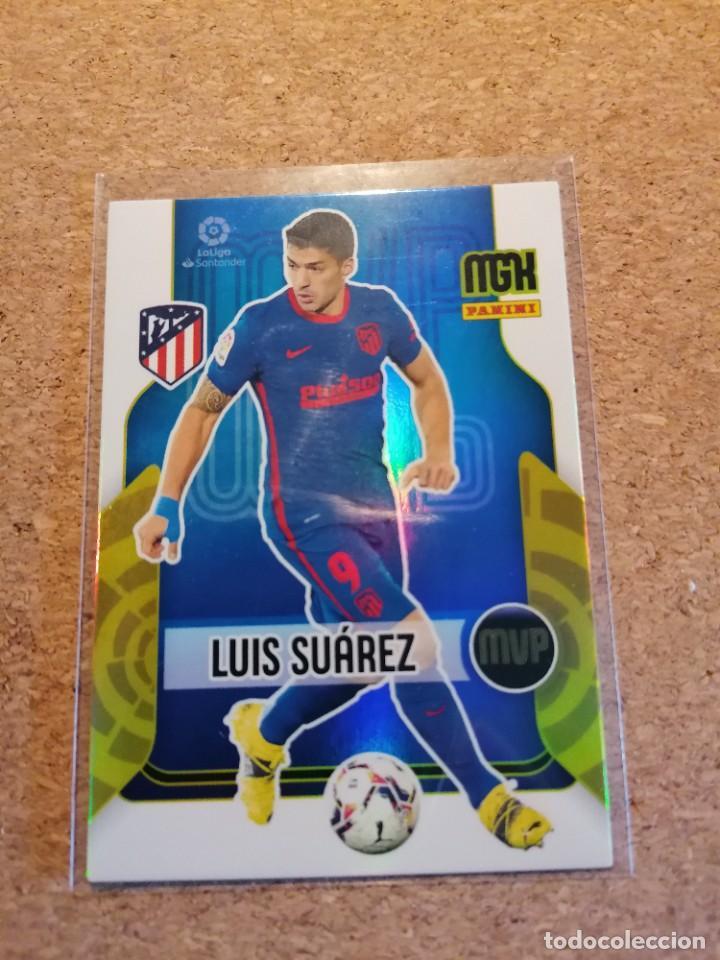 PANINI MGK 2021/22 LUIS SUAREZ AT MADRID MVP NUEVO (Coleccionismo Deportivo - Álbumes y Cromos de Deportes - Cromos de Fútbol)