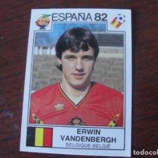 Cromos de Fútbol: PANINI ESPAÑA 82 - 214 BELGICA - ERWIN VANDENBERGH - SIN PEGAR. Lote 288094333
