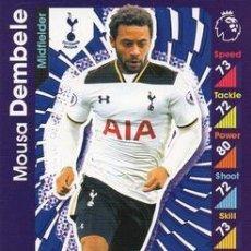 Cromos de Fútbol: 300-MOUSA DEMBELE-TOTTENHAM HOTSPUR-BASE CARD-TOPPS ENGLISH PREMIER LEAGUE 2016-2017 - MATCH ATTAX. Lote 288121553