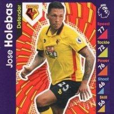 Cromos de Fútbol: 313-JOSE HOLEBAS-WATFORD-BASE CARD-TOPPS ENGLISH PREMIER LEAGUE 2016-2017 - MATCH ATTAX. Lote 288121558
