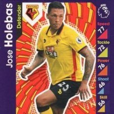 Cromos de Fútbol: 313-JOSE HOLEBAS-WATFORD-BASE CARD-TOPPS ENGLISH PREMIER LEAGUE 2016-2017 - MATCH ATTAX. Lote 288121583