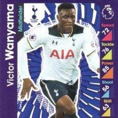 Cromos de Fútbol: 299-VICTOR WANYAMA-TOTTENHAM HOTSPUR-BASE CARD-TOPPS ENGLISH PREMIER LEAGUE 2016-2017 - MATCH ATTAX. Lote 288121588