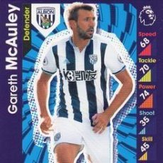 Cromos de Fútbol: 329-GARETH MCAULEY-WEST BROMWICH ALBION-BASE CARD-TOPPS ENGLISH PREMIER LEAGUE 2016-2017 - MATCH ATT. Lote 288121598