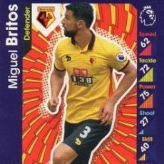 Cromos de Fútbol: 312-MIGUEL BRITOS-WATFORD-BASE CARD-TOPPS ENGLISH PREMIER LEAGUE 2016-2017 - MATCH ATTAX. Lote 288121608