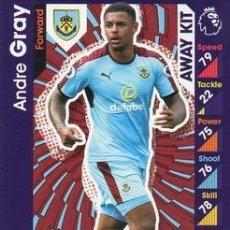 Cromos de Fútbol: 363-ANDRE GRAY-BURNLEY-AWAY KIT-TOPPS ENGLISH PREMIER LEAGUE 2016-2017 - MATCH ATTAX. Lote 288121683