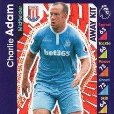 Cromos de Fútbol: 374-CHARLIE ADAM-STOKE CITY-AWAY KIT-TOPPS ENGLISH PREMIER LEAGUE 2016-2017 - MATCH ATTAX. Lote 288121688