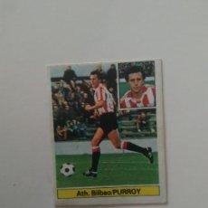 Cromos de Fútbol: PURROY ATHLETIC CLUB BILBAO CROMO TARJETA CARTÓN FUTBOL LIGA 1981-1982 81-82 EDICIONES ESTE. Lote 288230068