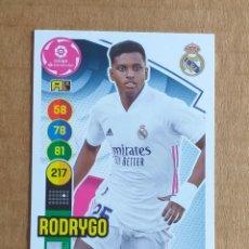 Cromos de Fútbol: CROMO Nº 249 RODRYGO REAL MADRID ADRENALYN XL 2020-2021 DE PANINI. NUEVO DE SOBRE.. Lote 288230073