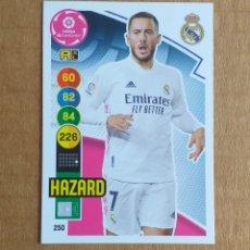 Cromos de Fútbol: CROMO Nº 250 HAZARD REAL MADRID ADRENALYN XL 2020-2021 DE PANINI. NUEVO DE SOBRE.. Lote 288230158