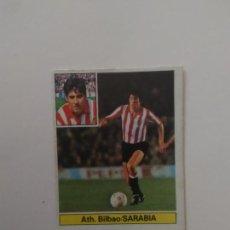 Cromos de Fútbol: SARABIA ATHLETIC CLUB BILBAO CROMO TARJETA CARTÓN FUTBOL LIGA 1981-1982 81-82 EDICIONES ESTE. Lote 288230168