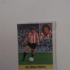 Cromos de Fútbol: TIRAPU ATHLETIC CLUB BILBAO CROMO TARJETA CARTÓN FUTBOL LIGA 1981-1982 81-82 EDICIONES ESTE. Lote 288230253