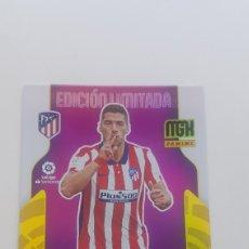Cromos de Fútbol: SUBASTA INICIAL NUEVO DE SOBRE LUIS SUÁREZ AT.MADRID EDICIÓN LIMITADA MEGACRAK 21 22. Lote 288330608