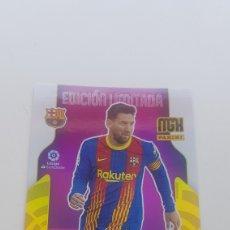 Cromos de Fútbol: SUBASTA INICIAL NUEVO DE SOBRE MEGACRAK MESSI BARCELONA EDICIÓN LIMITADA 21 22. Lote 288330718