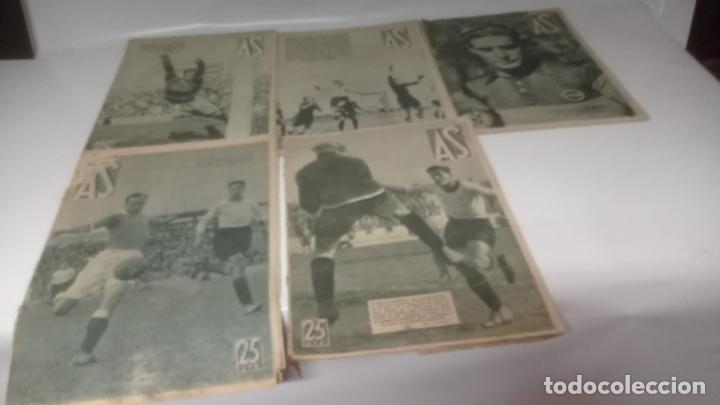 Cromos de Fútbol: LOTE DE REVISTAS DEPORTIVAS - AS (FUTBOL - CICLISMO - BOXEO - TENNIS....) - Foto 3 - 288336253