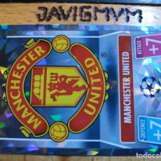Cromos de Fútbol: MATCH ATTAX CHAMPIONS 2021 2022 21 22 TOPPS CRYSTAL MANCHESTER UNITED Nº 28 ESCUDO. Lote 288438638