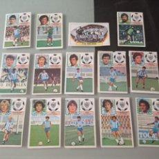 Cromos de Fútbol: 1983 1984 ED.ESTE MALAGA 14 CROMOS DIFERENTES.LISTA.LEER.83 84 DESPEGADOS..83 84. Lote 288438868