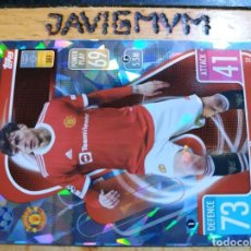 Cromos de Fútbol: MATCH ATTAX CHAMPIONS 2021 2022 21 22 TOPPS CRYSTAL MANCHESTER UNITED Nº 32 VICTOR LINDELOF. Lote 288439008