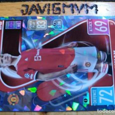 Cromos de Fútbol: MATCH ATTAX CHAMPIONS 2021 2022 21 22 TOPPS CRYSTAL MANCHESTER UNITED Nº 37 MCTOMINAY. Lote 288439813