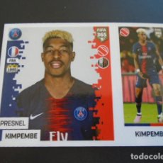Cromos de Fútbol: 126 PRESNEL KIMPEMBE PARIS SAINT-GERMAIN VERSION BLUE BACK STICKER PANINI FIFA 365 18 19 2018 2019. Lote 288481663