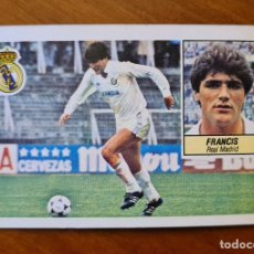 """Cromos de Fútbol: CROMO FRANCIS 84-85 """"ULTIMOS FICHAJES 7"""" ESTADO NORMAL NO PEGADO. Lote 288481808"""