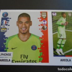 Cromos de Fútbol: 123 ALPHONSE AREOLA PARIS SAINT-GERMAIN VERSION BLUE BACK STICKER PANINI FIFA 365 18 19 2018 2019. Lote 288481983