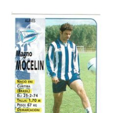 Cartes à collectionner de Football: CROMO FUTBOL 98 99 NUNCA PEGADO PANINI LIGA 1998 1999 ALAVÉS MAGNO MOCELIN. Lote 288583758