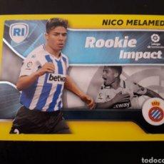 Cromos de Fútbol: NICO MELAMED ROOKIE IMPACT RCD ESPAÑOL/ESPANYOL ESTE 2021 2022 21 22 4 SIN PEGAR PEDIDO MÍNIMO 3€.. Lote 288596943