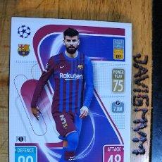 Cromos de Fútbol: MATCH ATTAX CHAMPIONS 2021 2022 21 22 TOPPS BARCELONA Nº 214 PIQUE. Lote 288596998