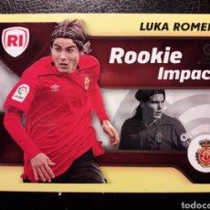 Cromos de Fútbol: LUKA ROMERO MALLORCA ROOKIE IMPACT ESTE 2021 2022 21 22 N° 4 SIN PEGAR. VER FOTOS. PEDIDO MÍNIMO 3€.. Lote 288597088