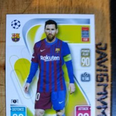 Cromos de Futebol: MATCH ATTAX CHAMPIONS 2021 2022 21 22 TOPPS BARCELONA Nº 225 MESSI. Lote 288597318