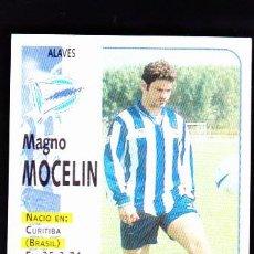 Cromos de Fútbol: CROMO FUTBOL 98 99 NUNCA PEGADO PANINI LIGA 1998 1999 ALAVÉS MAGNO MOCELIN. Lote 288636643