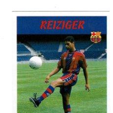 Cromos de Fútbol: CROMO FUTBOL 97 98 NUNCA PEGADO PANINI LIGA 1997 1998 BARCELONA REIZIGER. Lote 288641903