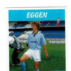 Cromos de Fútbol: CROMO FUTBOL 97 98 NUNCA PEGADO PANINI LIGA 1997 1998 CELTA EGGEN. Lote 288642078