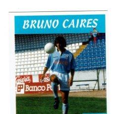 Cromos de Fútbol: CROMO FUTBOL 97 98 NUNCA PEGADO PANINI LIGA 1997 1998 CELTA BRUNO CAIRES. Lote 288642303