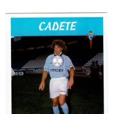 Cromos de Fútbol: CROMO FUTBOL 97 98 NUNCA PEGADO PANINI LIGA 1997 1998 CELTA CADETE. Lote 288642513