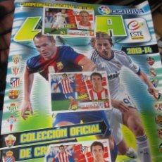 Cromos de Fútbol: ALBUM CAMPEONATO NACIONAL DE LIGA 2013-2014 ESTE. COMPLETO. Lote 288643108